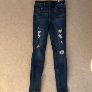 High waisted skinny Abercrombie Jeans